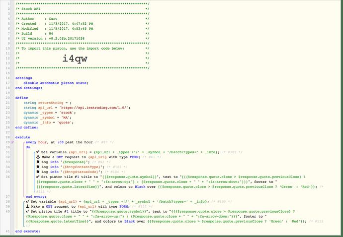 Stock API