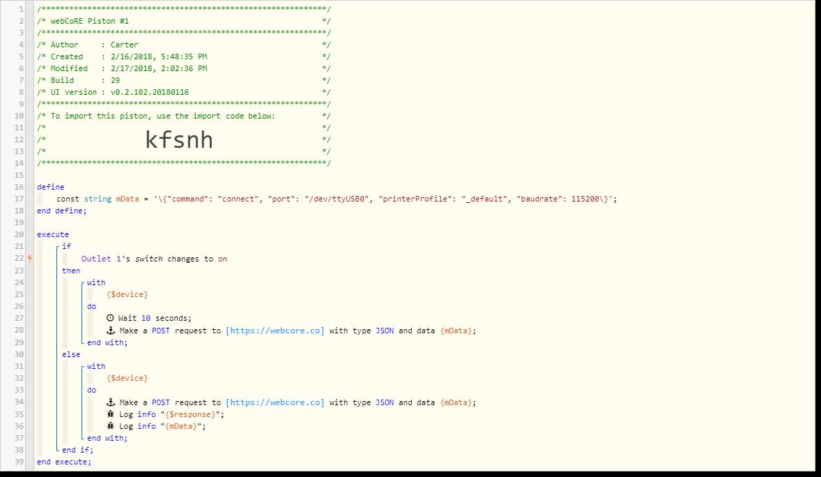 Json post parameters - Piston: Design Help - webCoRE Community Forum