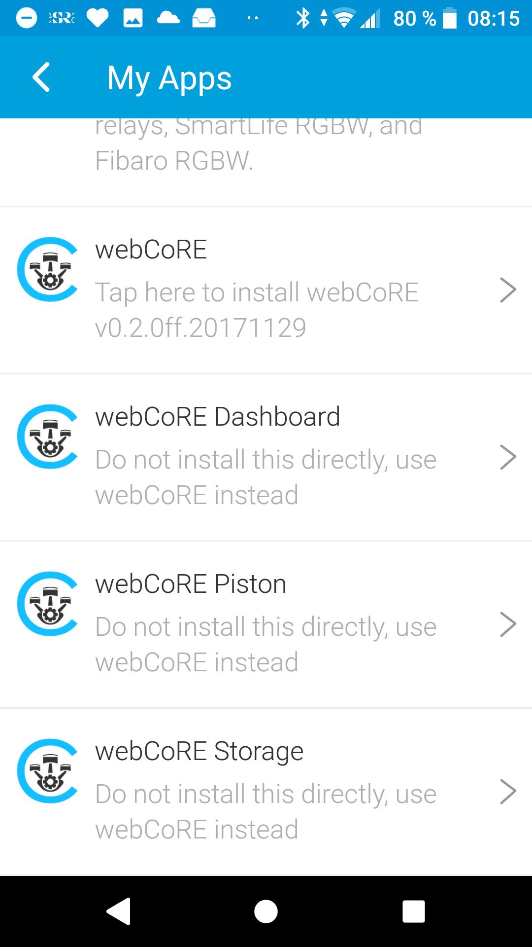 Multiple webcore App instance - Piston: Design Help