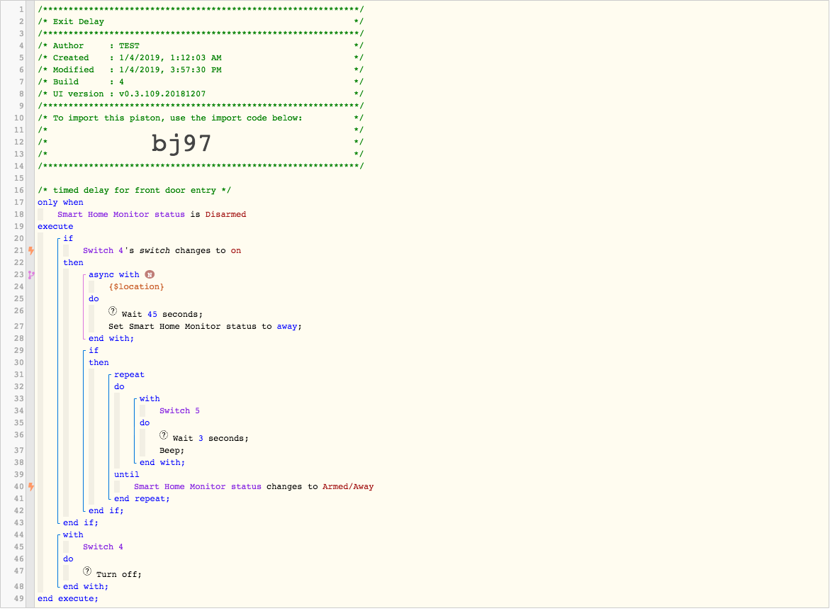 Piezo Buzzer Not Working - Piston: Design Help - webCoRE