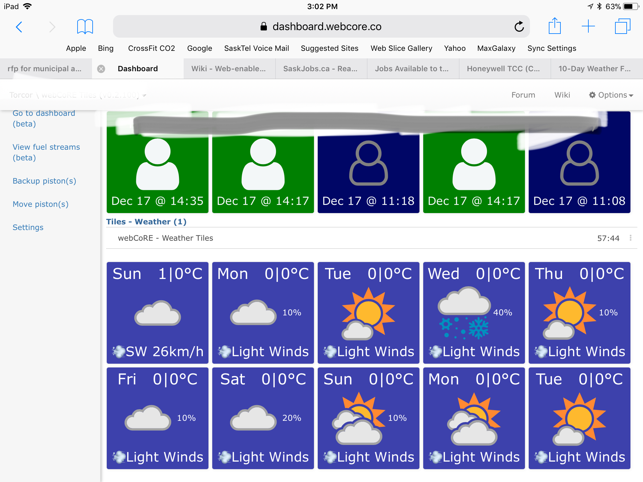 10-Day Weather Forecast Tiles - Example Pistons - webCoRE Community