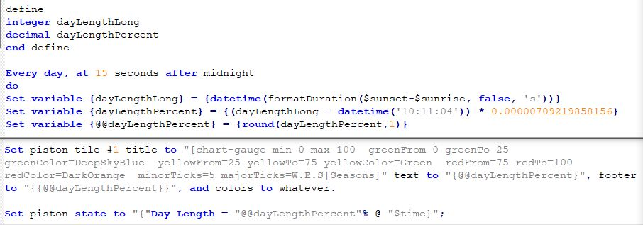 Notepad++ XML Language for webCoRE colored syntax