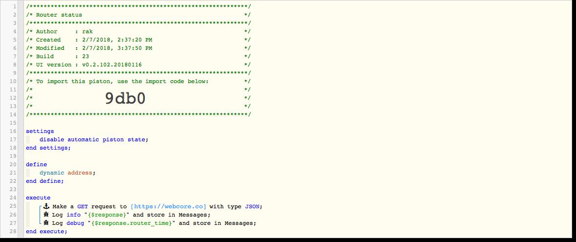 Parsing json get request - parsing data question - Piston: Design