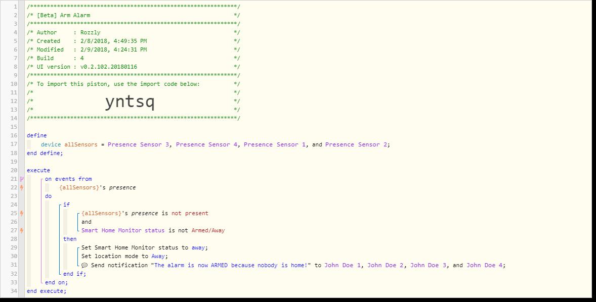 Error executing virtual command